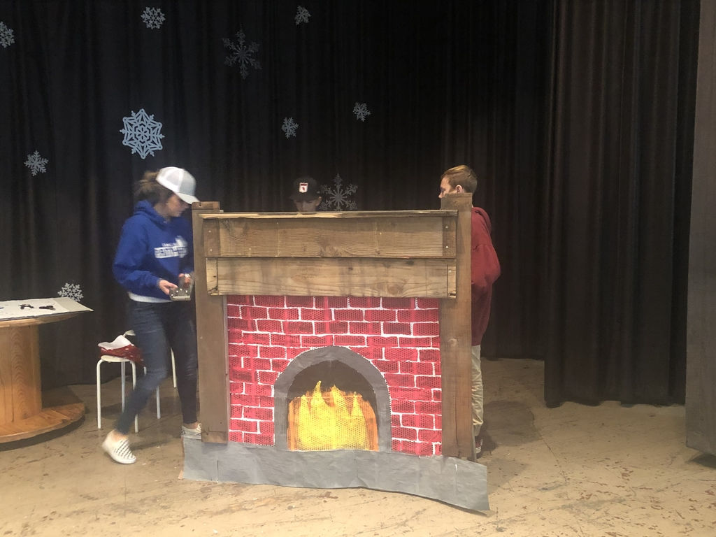 Setting the fireplace