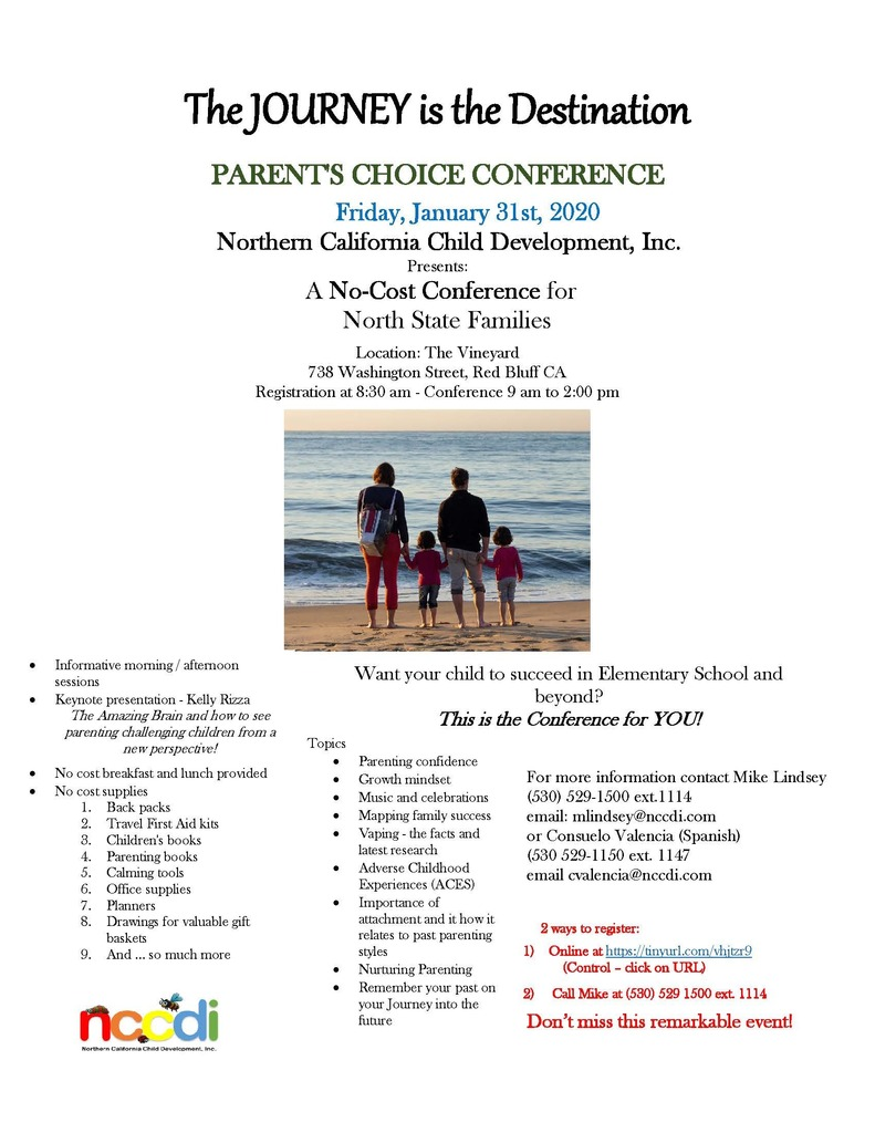Parent workshop January 31